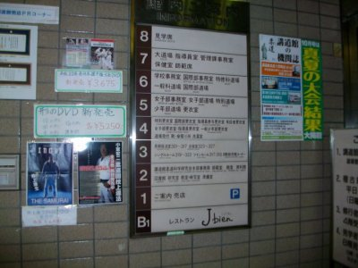 Visite du Kodokan