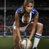 Belle nana normal ce une rugby girl :p