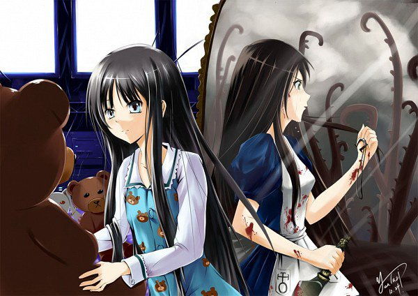 Alice Liddell (du jeu:Alice Madness Returns) version manga