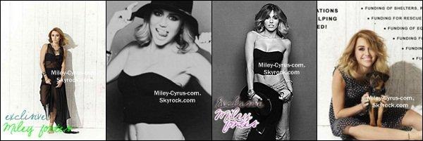 2 Août 2012 : Miley & Liam ont été vu dans un restaurant et ils prient des photos avec des fans à Philadelphie.