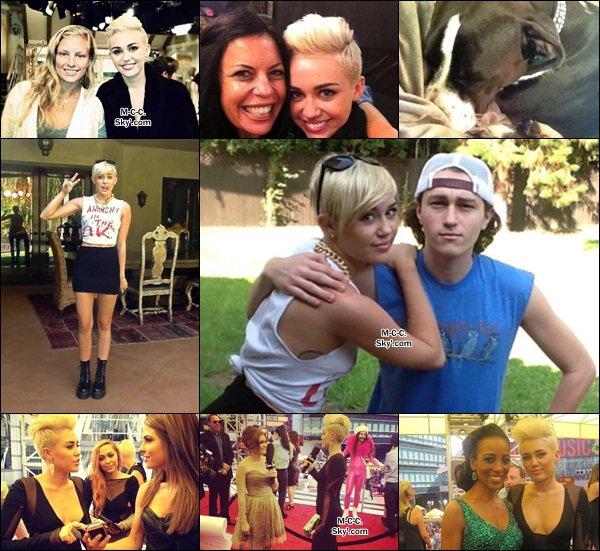 10.09.2012 : Miley et Liam sont allés acheter à manger à LA.
