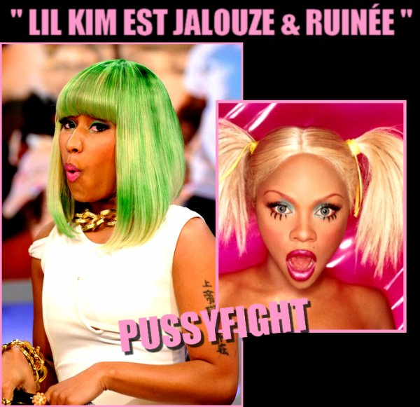 LIL KIM & NICKI MINAJ :  LET THEM BITCHES FIGHT N°10