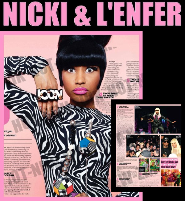 Nicki Minaj chirugie interview S.B