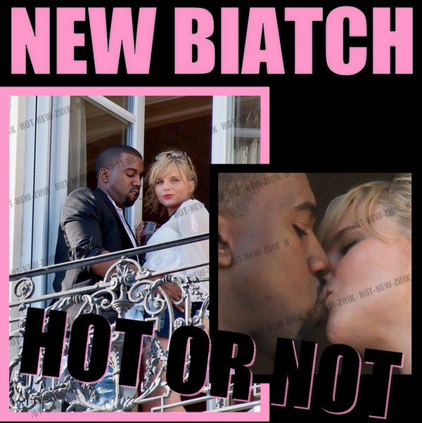 Kanye West & Kate Upton
