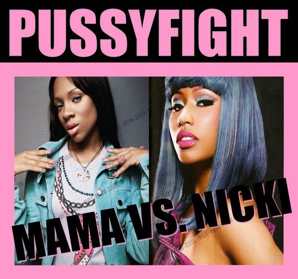 Lil Mama & Nicki Minaj : Pussyfight