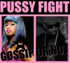 Pussyfight : S.B  aurait Chris Browné Nicki Minaj