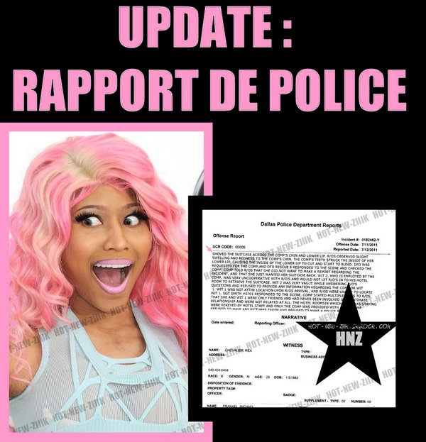 Pussyfight - Nicki Minaj & S.B : Rumeur confirmé, Accident ou Bagarre ?