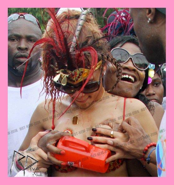Rihanna : dans son élément