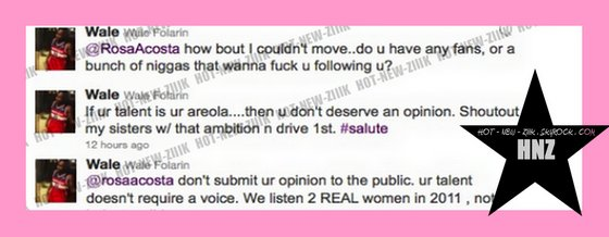 Pussyfight : Rosa Acosta VS. Wale