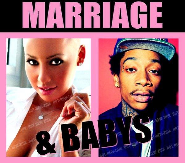 Amber Rose & Wiz Khalifa :