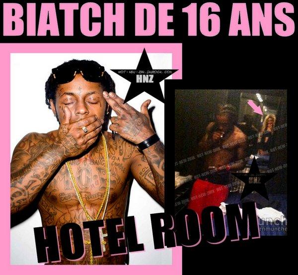Lil Wayne : Nuit follle avec la nouvelle Kat Stacks de 16 ans