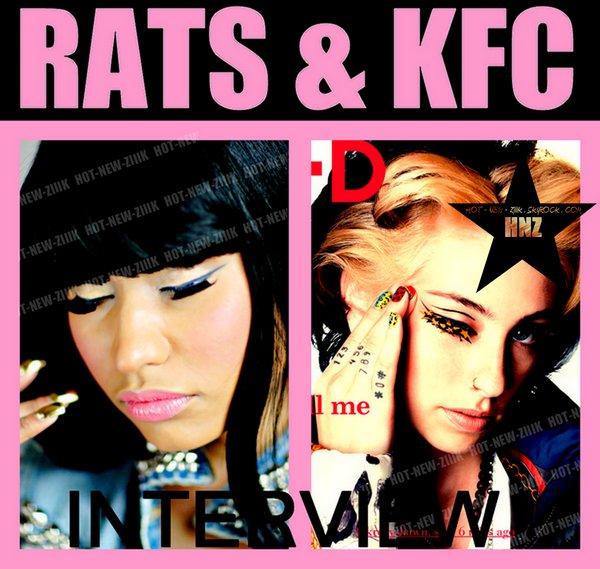 """Kreayshawn & Nicki Minaj : """" Je l'embrasserais de partout """""""