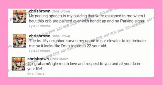 Pussyfight : Chris Brown trainé en justice pour violation des conditions de mise à l'epreuve