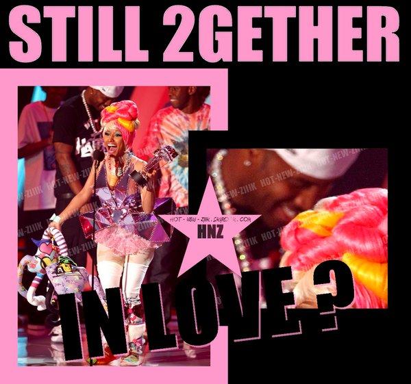 Spéciale Mtv Vma  : S.B & Nicki Minaj sont toujours ensembles
