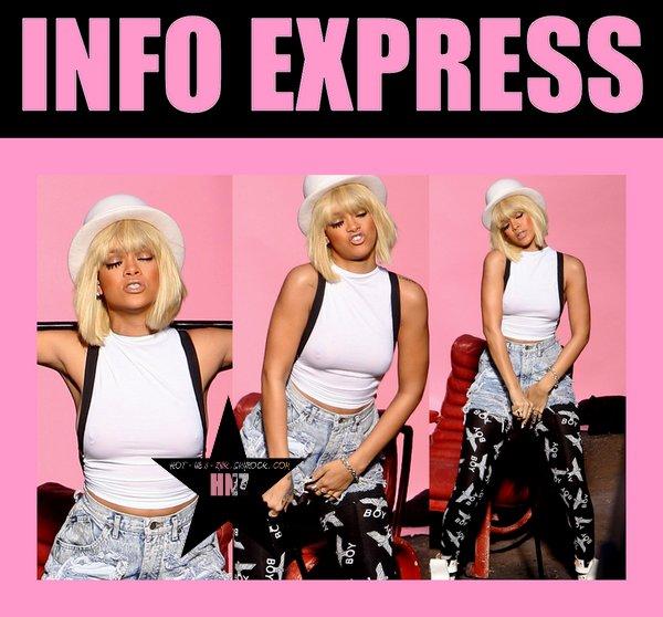 info express : Rihanna - you da one