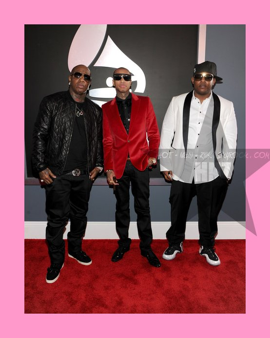 Le Red Carpet des  Grammy Awards 2012