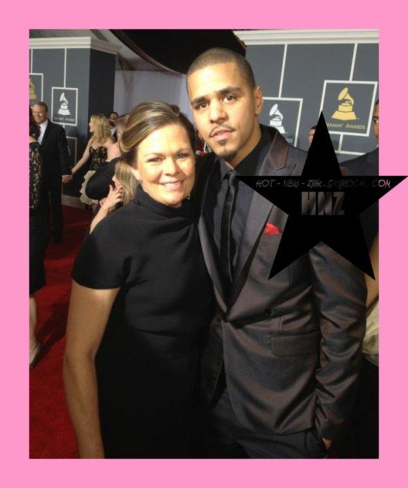 Le Red Carpet des  Grammy Awards 2012