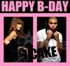 """Rihanna & Chris Brown : """" Happy B-day Robyn """""""
