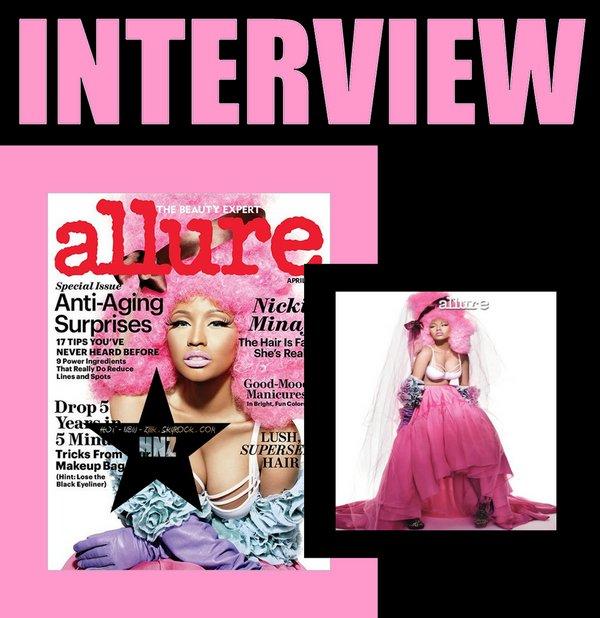 Nicki Minaj dans Allure