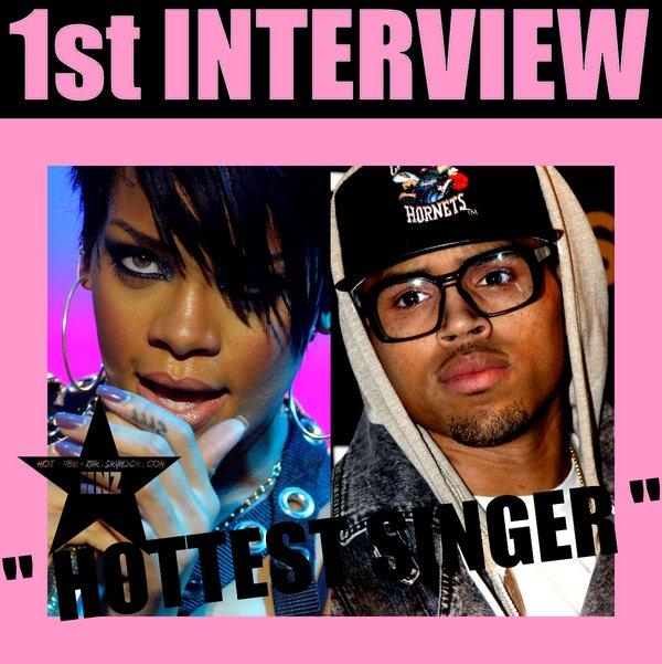 Rihanna  parle de chris brown