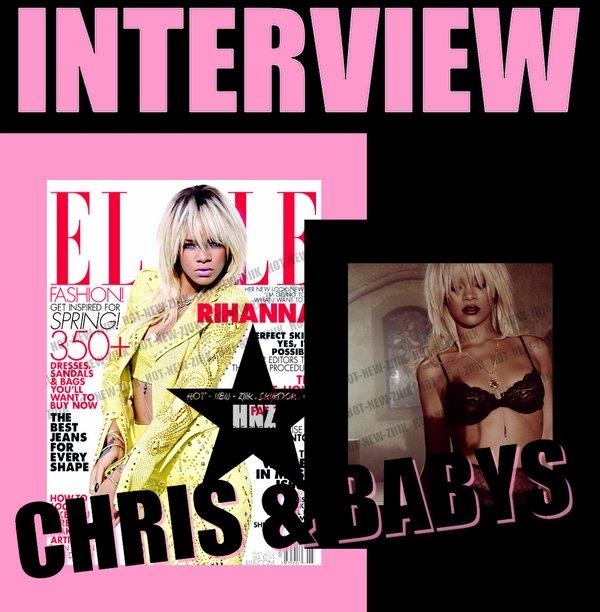 Rihanna : Rite annuel avec le magazine Elle