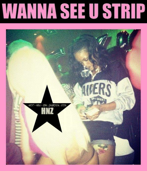 Rihanna making it rain on dem hoes