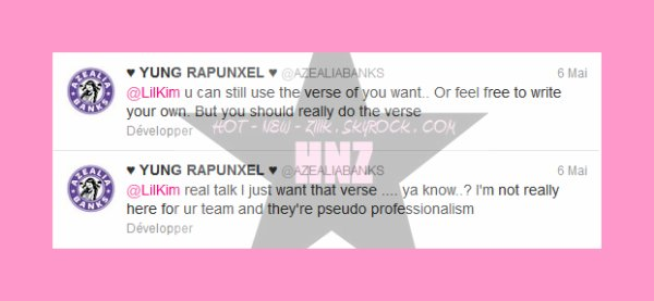 Lil kim vs. Azealia Banks