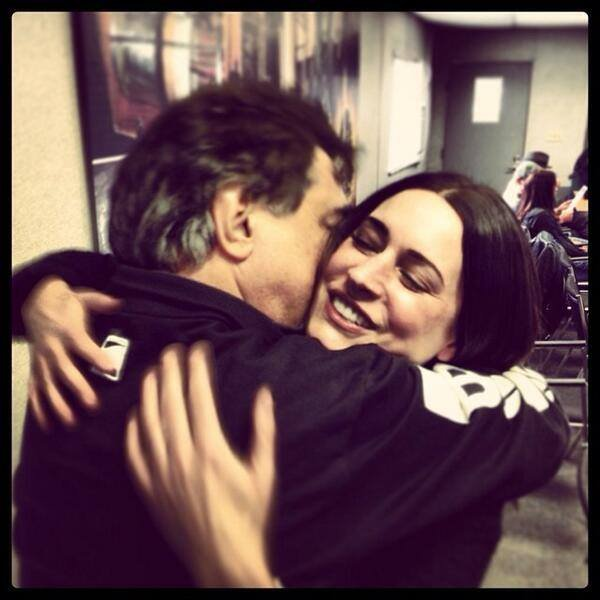 *Paget Brewster & Joe Mantegna