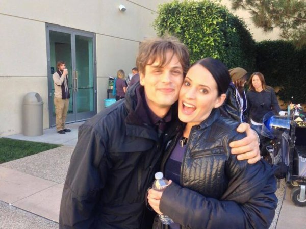 *Matthew Gray Gubler & Paget Brewster