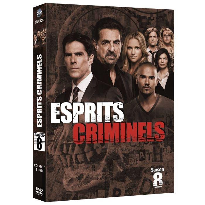 Esprits Criminels saison 8 : Sortie DVD / Blu Ray