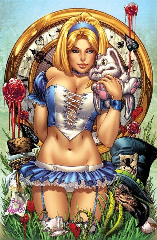 """Alice au """"Pays des Merveilles"""""""