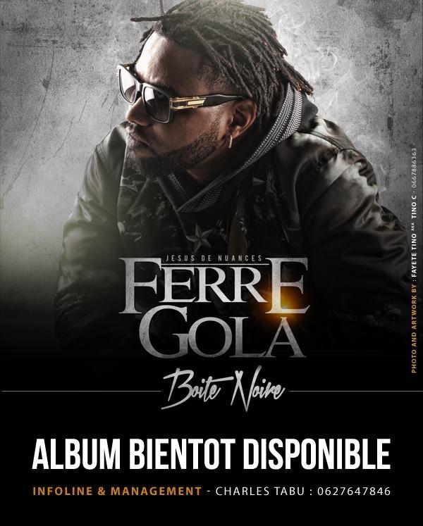 Ferre Gola - BOITE NOIRE affiche officiel