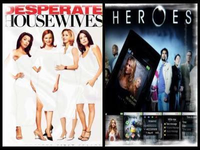Desperate Houswives VS Heroes