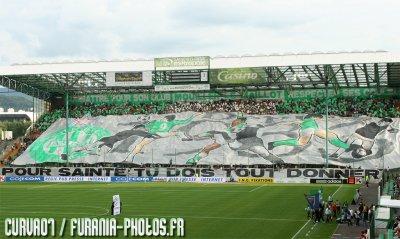 Tifos Green Angels Contre Sochaux.