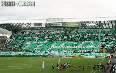 Tifo Green Angels Contre Montpellier !