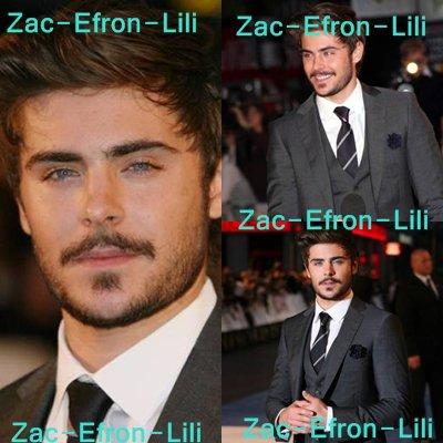 Zac Efron et sa moustache charment la Grande-Bretagne !