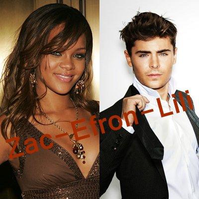 Rihanna : une love story avec Zac Efron