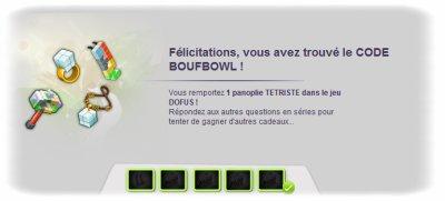 Code Boufbowl !