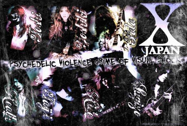 Psychedelic Violence, Crime Of Visual Shock