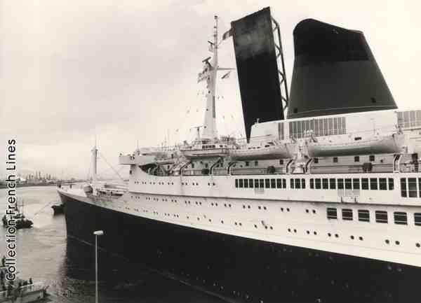Le dernier départ du Havre