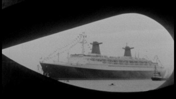 Arrivée au Havre vue depuis le musée Malraux
