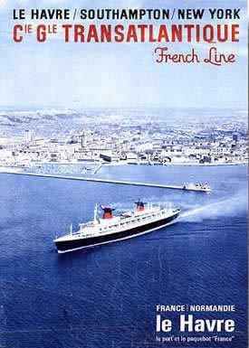 Le Havre / Southampton / New York