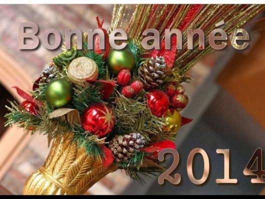 bonne année2014 a tout mes amis