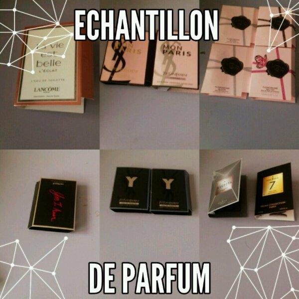 Echantillon de parfum