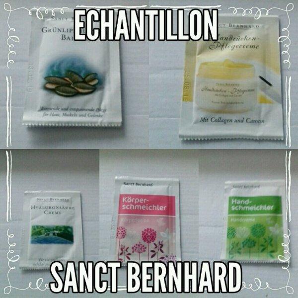 Mes échantillon sanct Bernhard.