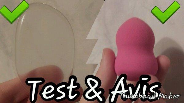 Test De Produit & Avis  : Éponge a fond de teint
