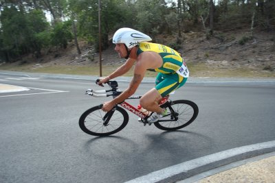 Photo : Triathlon de Maubuisson 2010