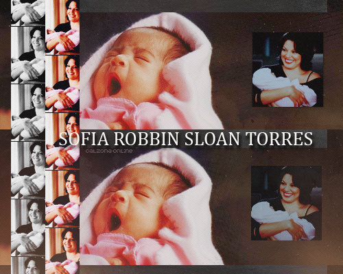 Fille : Sofia robbins sloan torres