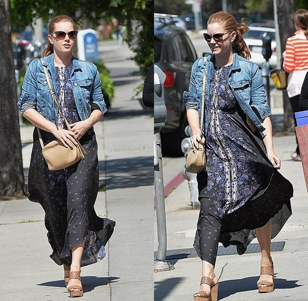 17 Avril 2015 | Amy en shopping avec une amie à  Beverly Hills