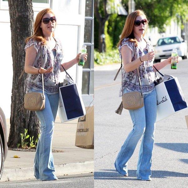 17 Avril 2015 | Amy en shopping avec une amie à  Beverly Hills